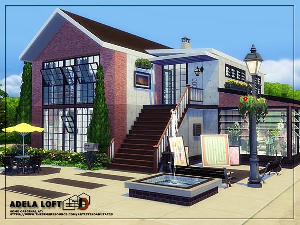 Adela loft by Danuta720 at TSR image 20 Sims 4 Updates