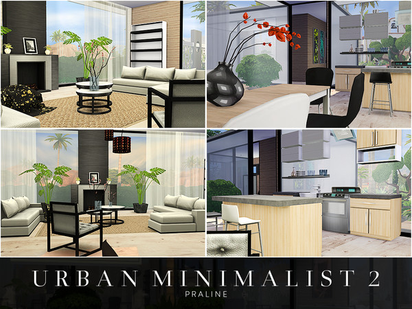 Urban Minimalist 2 house by Pralinesims at TSR image 2014 Sims 4 Updates