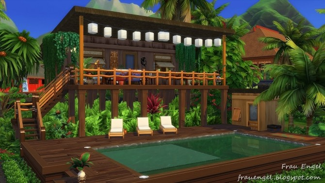 Sims 4 Jungle Paradise at Frau Engel