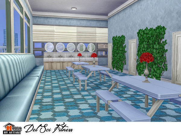 Del Soi Fitness by autaki at TSR image 2030 Sims 4 Updates