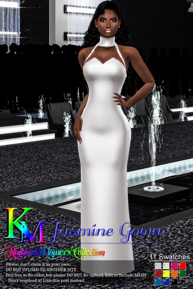 Sims 4 Jasmine Gown at KM