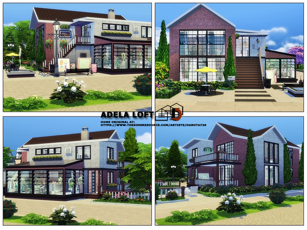 Adela loft by Danuta720 at TSR image 21 Sims 4 Updates
