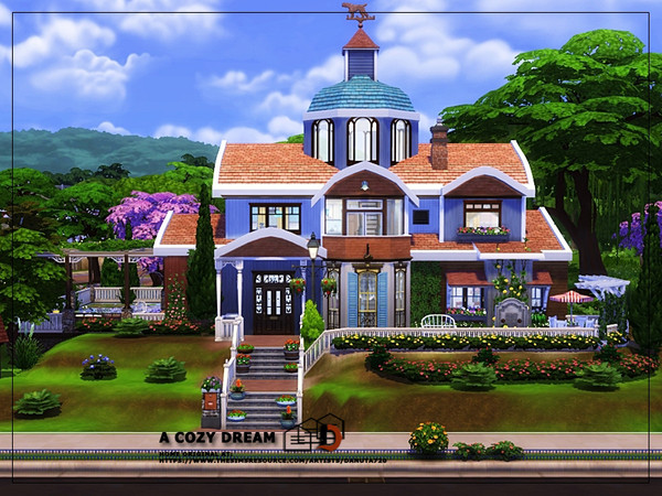 A cozy dream house by Danuta720 at TSR image 2115 Sims 4 Updates