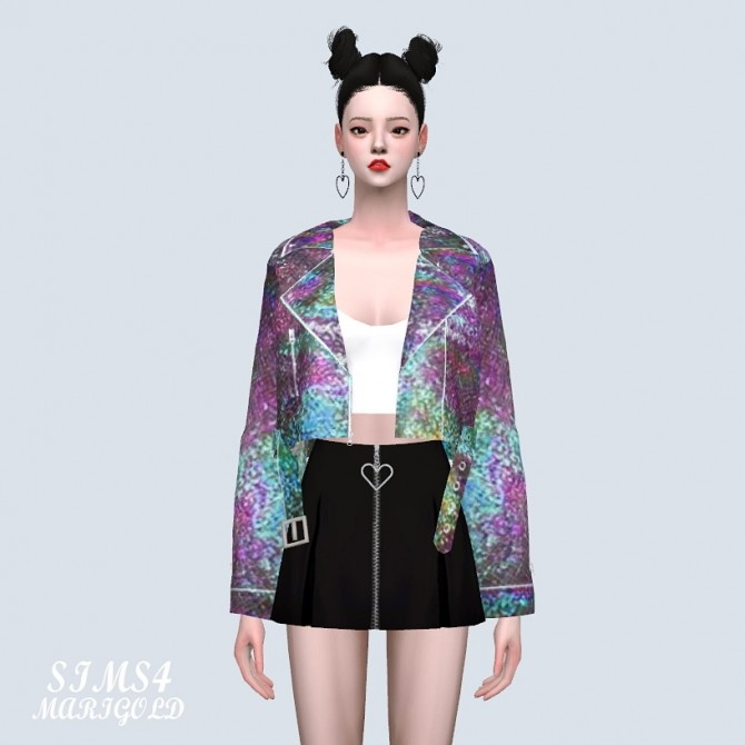 Hologram Jacket With Sleeveless at Marigold image 21310 670x670 Sims 4 Updates