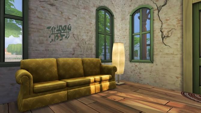 Sims 4 Sylvie St Fixer Upper shotgun cottage at Jenba Sims