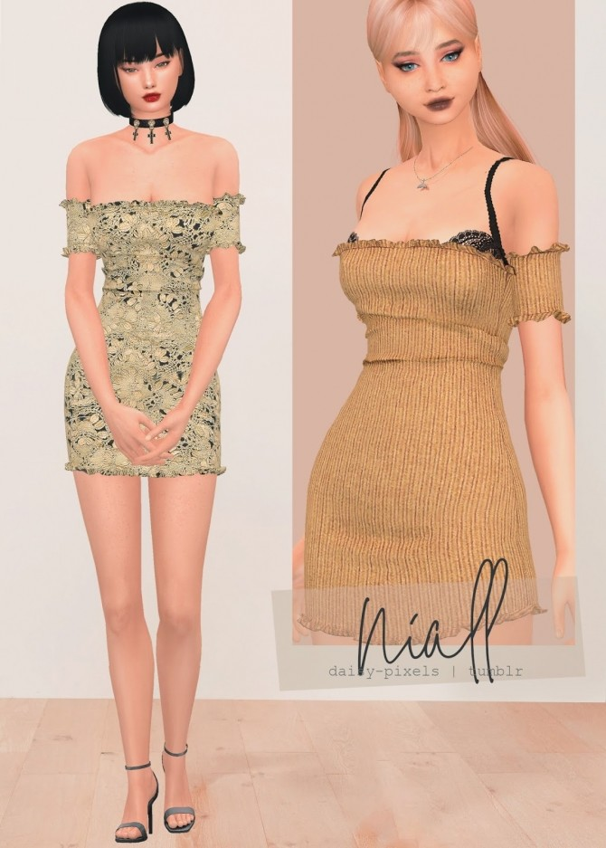 Niall Dress at Daisy Pixels image 2191 670x937 Sims 4 Updates