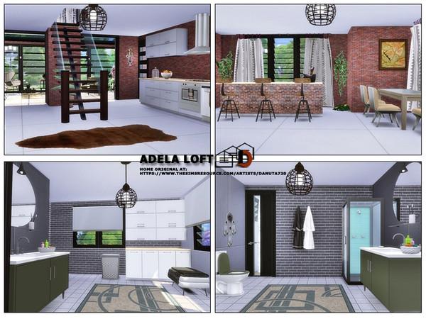 Adela loft by Danuta720 at TSR image 22 Sims 4 Updates