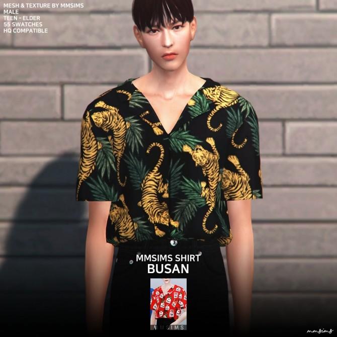 AM Busan Shirt at MMSIMS image 22111 670x670 Sims 4 Updates