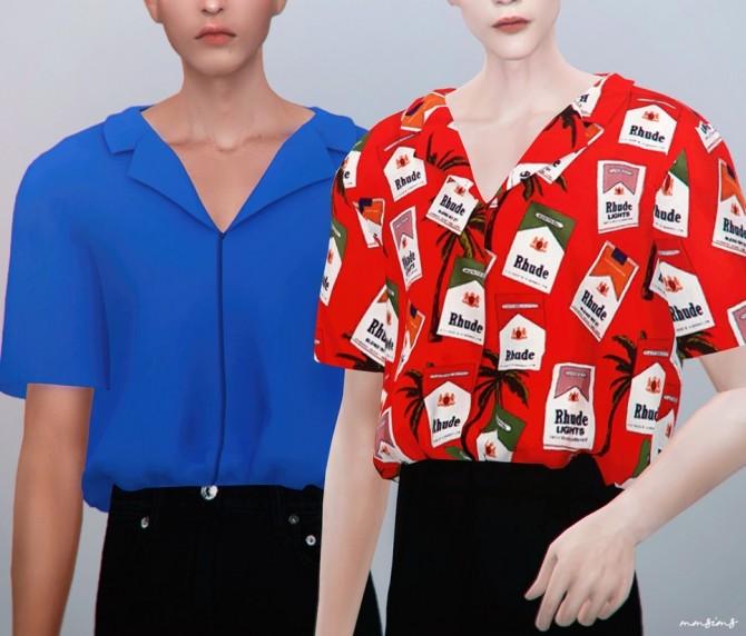 AM Busan Shirt at MMSIMS image 2229 670x572 Sims 4 Updates