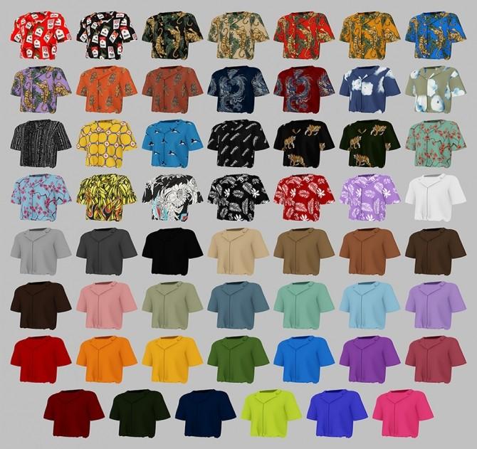 AM Busan Shirt at MMSIMS image 2232 670x631 Sims 4 Updates