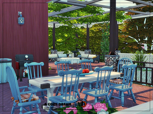 A cozy dream house by Danuta720 at TSR image 2314 Sims 4 Updates