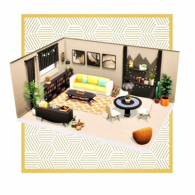 Contrast Cozy Space at Agathea k image 2391 670x670 Sims 4 Updates