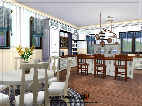 A cozy dream house by Danuta720 at TSR image 2410 Sims 4 Updates