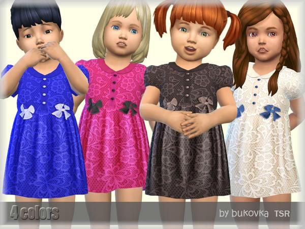 Short Dress Lace by bukovka at TSR image 2411 Sims 4 Updates