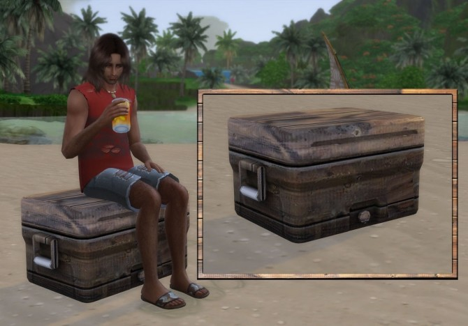 Sims 4 Old Cooler at Alial Sim