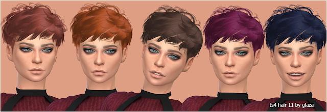 Sims 4 Hair 11 (P) at All by Glaza