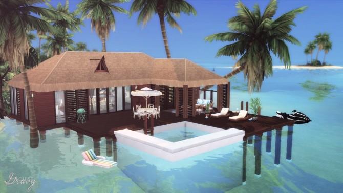 Sims 4 Small Family Home at GravySims