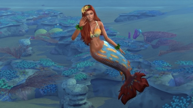 Mermaid Aelita by Elena at Sims World by Denver image 26111 670x377 Sims 4 Updates