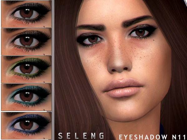 Sims 4 Eyeshadow N11 by Seleng at TSR