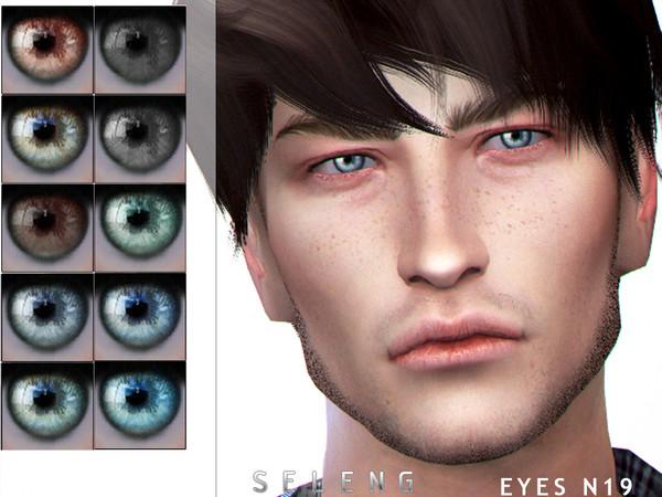 Sims 4 Eyes N19 by Seleng at TSR
