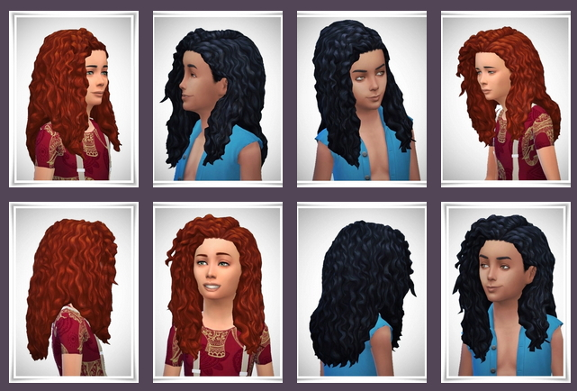 Kids Long Tight Curls 2 Versions at Birksches Sims Blog image 27110 Sims 4 Updates