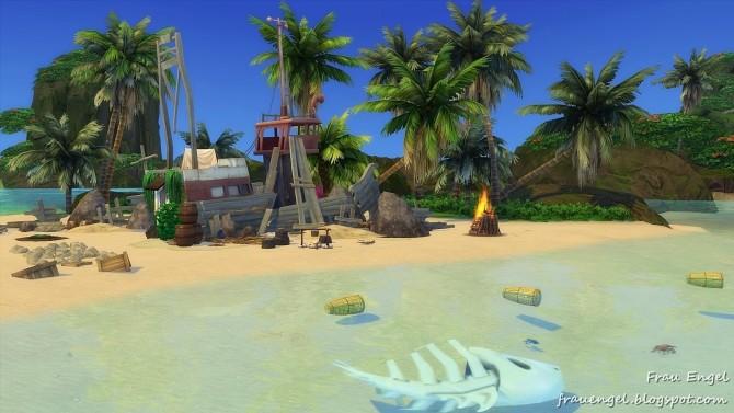 Sims 4 Uninhabited island at Frau Engel