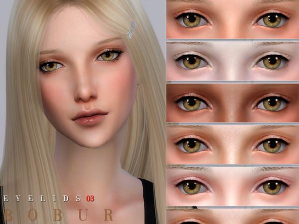 Sims 4 Eyelids 03 by Bobur3 at TSR
