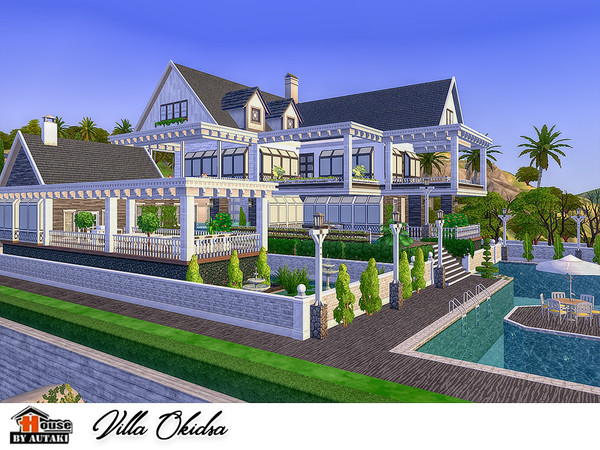 Sims 4 Villa Okidsa by autaki at TSR