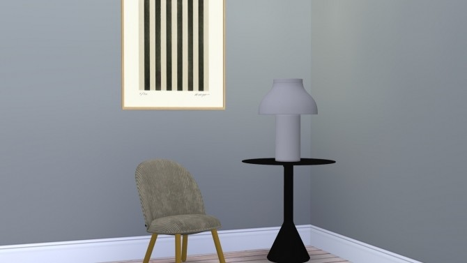 Sims 4 PC TABLE LAMP at Meinkatz Creations