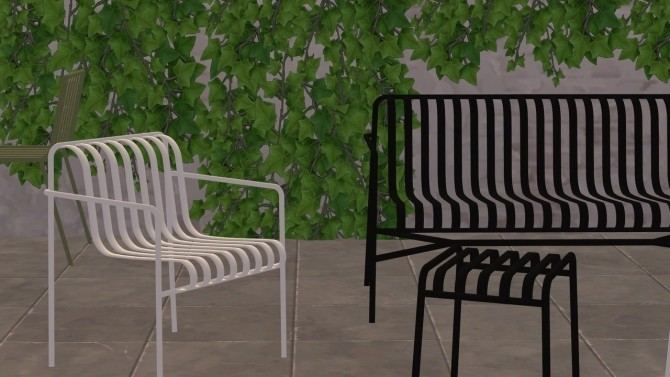 Sims 4 PALISSADE COLLECTION at Meinkatz Creations