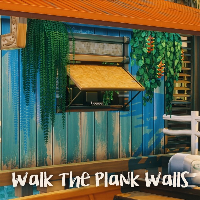 WALK THE PLANK WALLS at Picture Amoebae image 2892 670x670 Sims 4 Updates