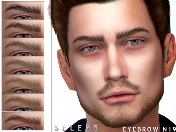 Eyebrows N19 by Seleng at TSR image 297 Sims 4 Updates