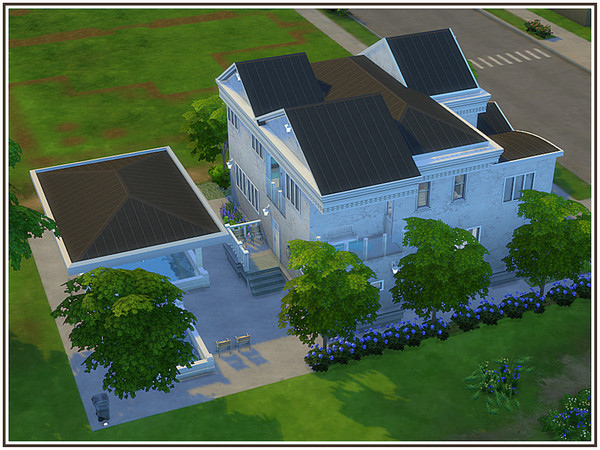 Amberton house by marcorse at TSR image 3 Sims 4 Updates