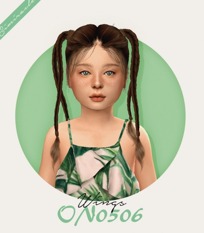 Wings ON0506 Hair Kids Verison at Simiracle image 3015 670x767 Sims 4 Updates