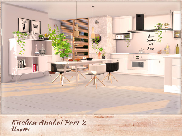 Kitchen Anukoi Part 2 by ung999 at TSR image 3020 Sims 4 Updates