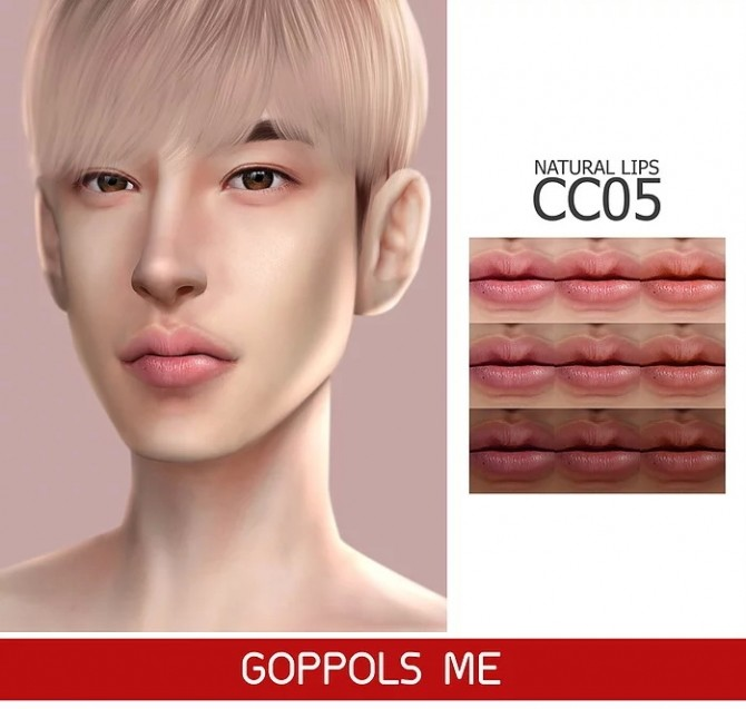 GPME Natural Lips CC5 at GOPPOLS Me image 3021 670x637 Sims 4 Updates