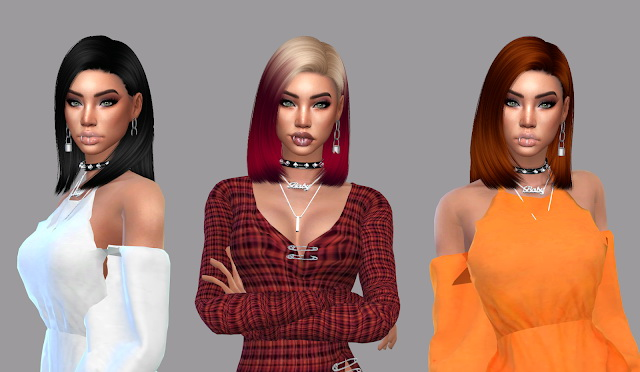 Crow Hair Recolor at Teenageeaglerunner image 3051 Sims 4 Updates