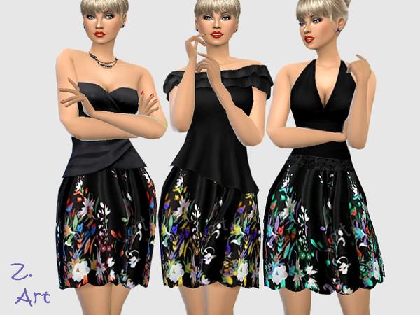 Sims 4 Boho 09 Skirt by Zuckerschnute20 at TSR