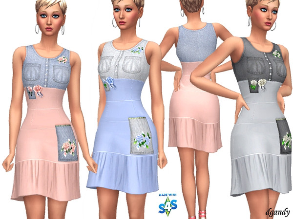 Dress 201906 02 by dgandy at TSR image 319 Sims 4 Updates