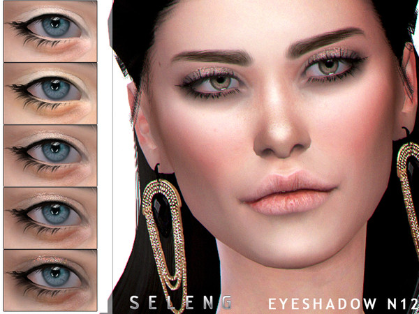 Sims 4 Eyeshadow N12 by Seleng at TSR