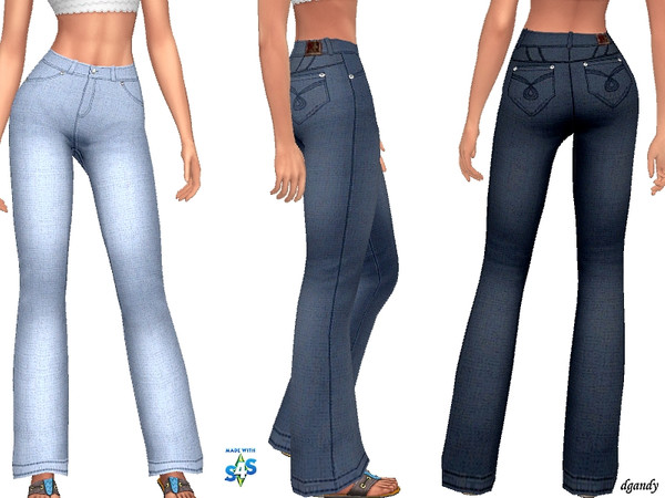 Sims 4 Jeans 201905 14 by dgandy at TSR