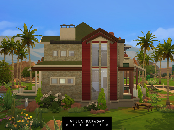Villa Faraday by Ettoire at TSR image 350 Sims 4 Updates