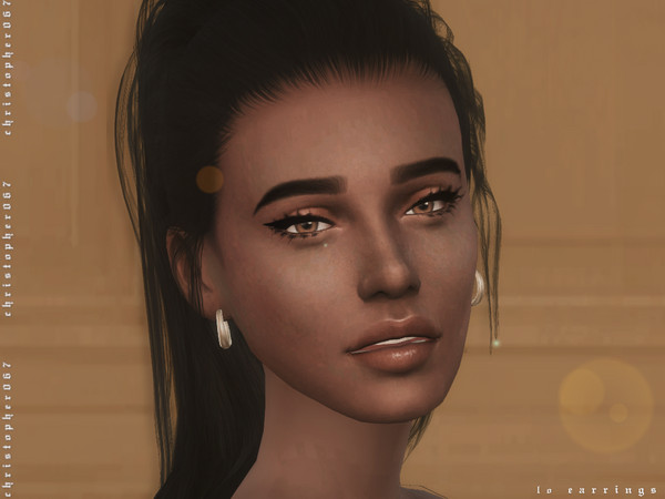 LO Earrings by Christopher067 at TSR image 3511 Sims 4 Updates