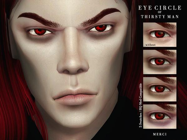 Sims 4 Eye Circle Of Thisrty Man by Merci at TSR