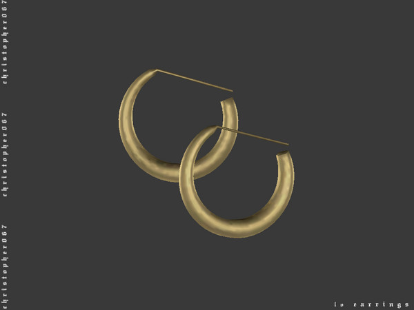 LO Earrings by Christopher067 at TSR image 3611 Sims 4 Updates