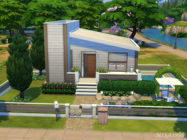 Small modern house by Misa1996 at TSR image 362 Sims 4 Updates