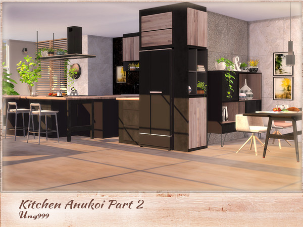 Kitchen Anukoi Part 2 by ung999 at TSR image 3620 Sims 4 Updates