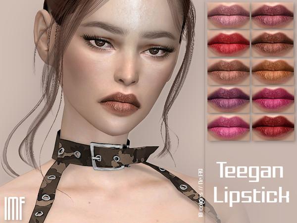 IMF Teegan Lipstick N.179 by IzzieMcFire at TSR image 37 Sims 4 Updates
