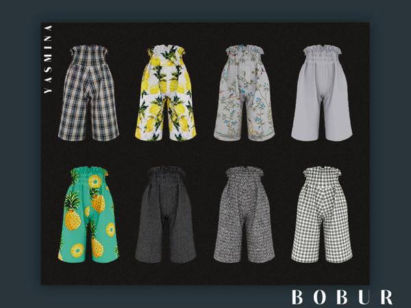 Sims 4 Yasmina shorts by Bobur3 at TSR