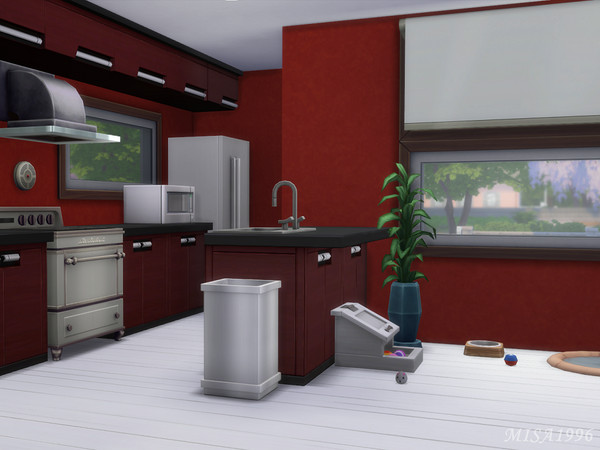 Small modern house by Misa1996 at TSR image 372 Sims 4 Updates